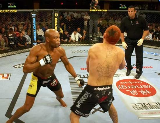 Assistir luta de Anderson Silva vs Chris Leben UFC Fight Night 14