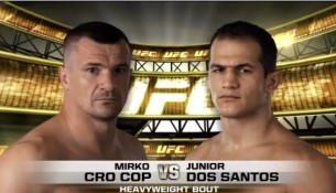 Vídeo, assistir luta Júnior Cigano vs Mirko Cro Cop UFC 103