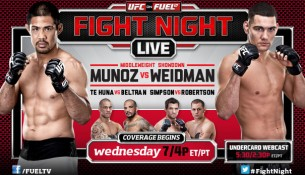 UFC on FUEL 4 - Chris Weidman x Mark Muñoz